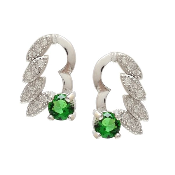 CZ Earrings | divinejewelsindia