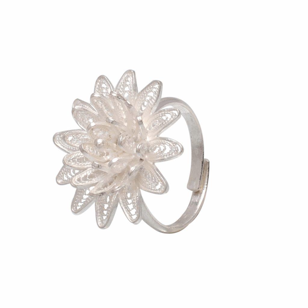 Filigree Silver Rings | divinejewelsindia