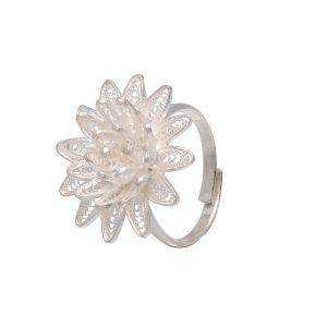 Filigree Silver Rings   divinejewelsindia