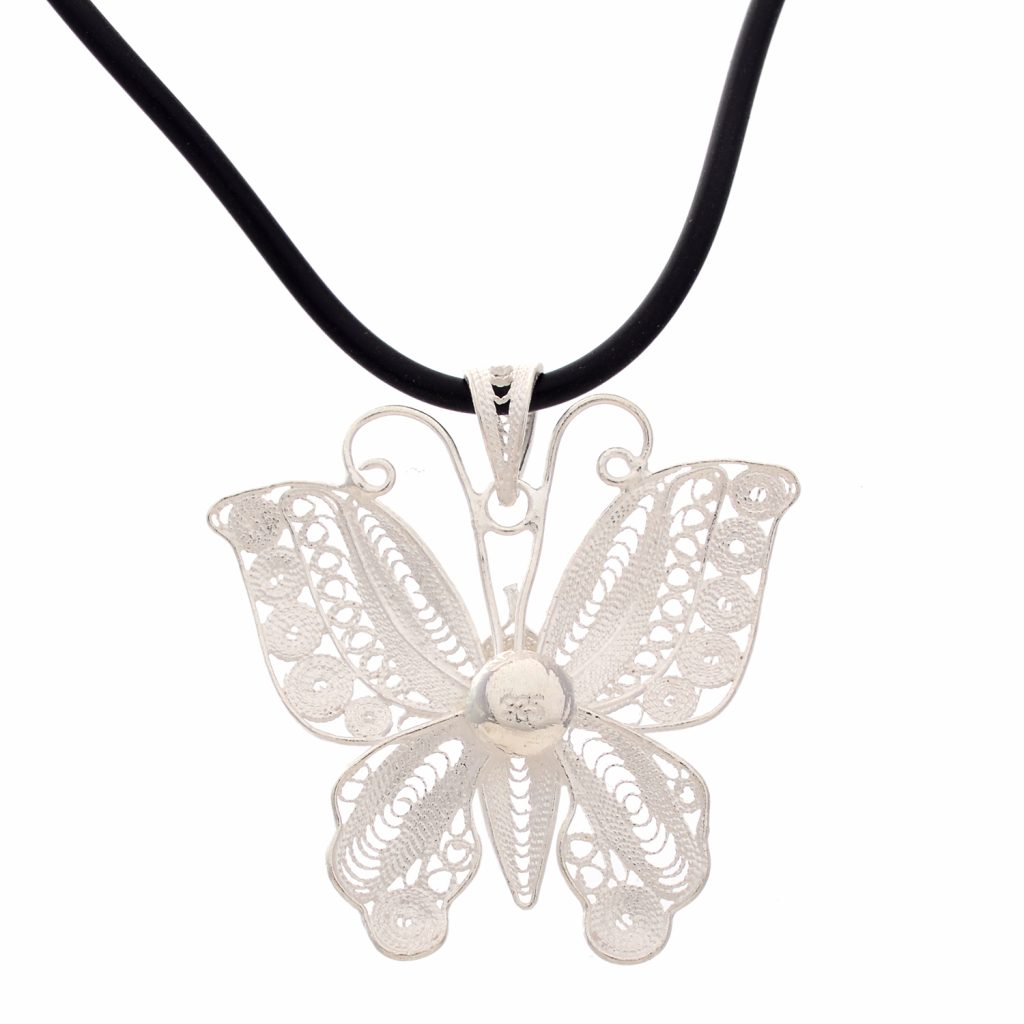 Filigree Silver Pendants | divinejewelsindia