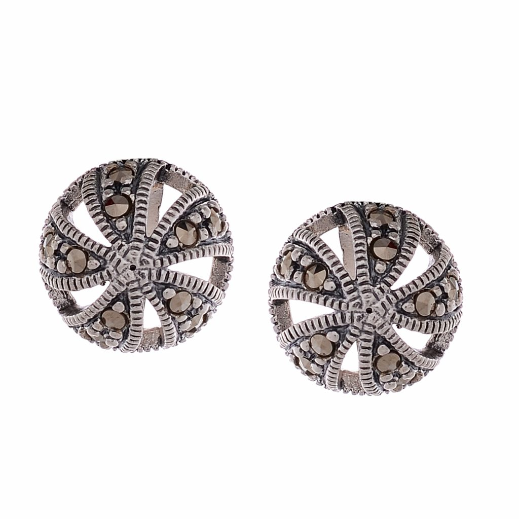 Marcasite Silver Earrings