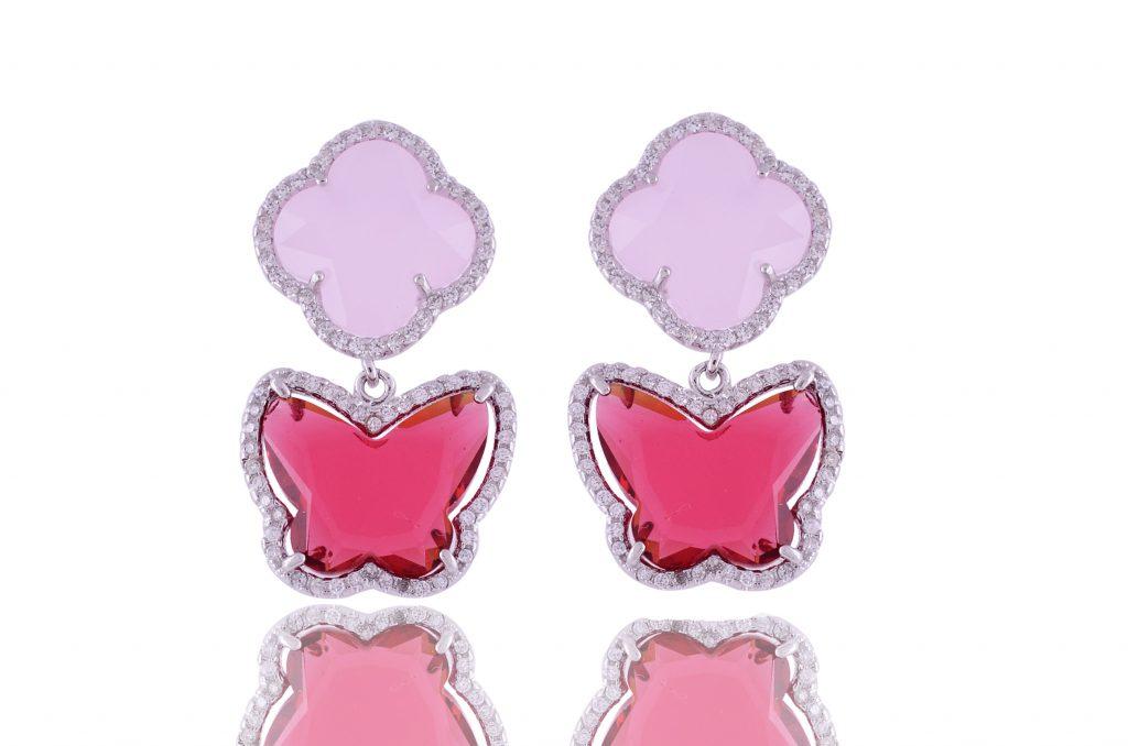 CZ Earrings | divinejewelsindia