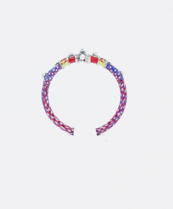 Antique Purple and Pink Bangle