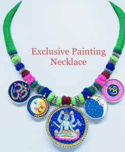 Exclusive Lord Shiva Painting Necklace