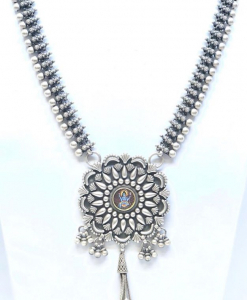 Antique Oxidized Light Weight Necklace