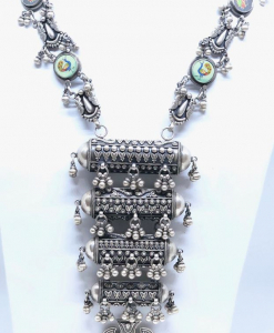 Antique Oxidized Layererd Necklace