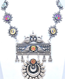 Beautiful Antique Silver Necklace