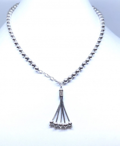 Antique Silver Light weight Necklace