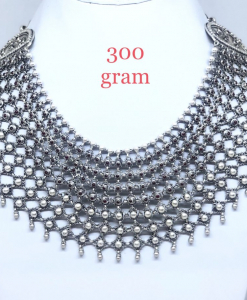 Antique Silver Heavy Weight Necklace