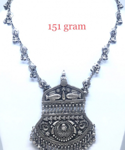 Anique Silver Necklace