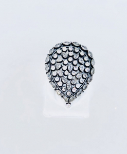 Exclusive Cut Stone Ring