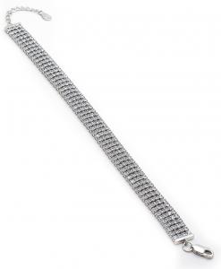 CZ Four Line Bracelet