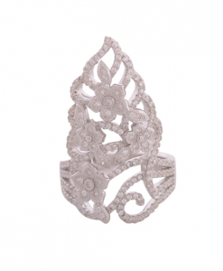 CZ Crown Ring