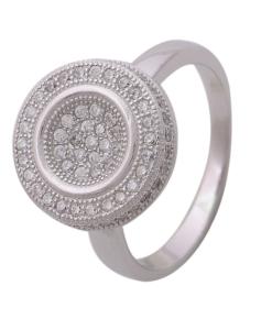Beautiful CZ Engagement Ring