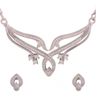 CZ Necklace | Cubic Zirconia Necklace