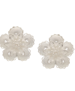 Filigree Flower and Star Studs