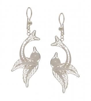 Filigree Silver Earrings