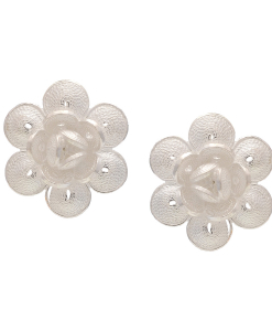 Filigree Flower Studs