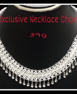 Filigree Exclusive Necklace Chain with Drops