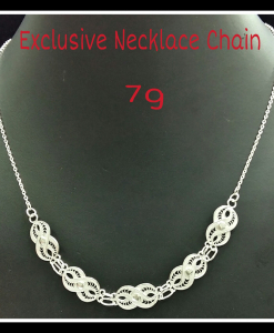 Filigree Exclusive Designer Necklace Chain