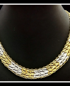 Filigree Exclusive Two Tone Necklace Chain