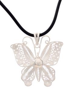 Filigree Butterfly Pendant