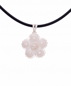 Filigree Small Flower Pendant