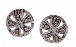 Marcasite Silver Earrings