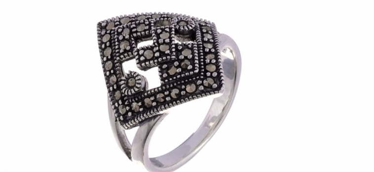 Marcasite Silver Rings