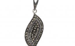 Marcasite Silver Pendants