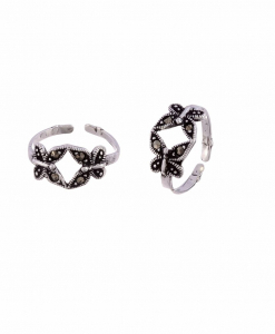 Marcasite Butterfly Toering