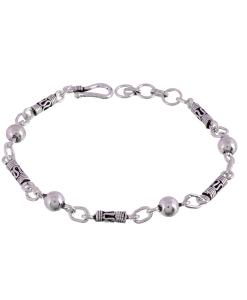 Oxidised Silver Light Bracelet