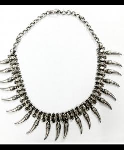 Oxidised Silver Beautiful Exclusive Neck Piece