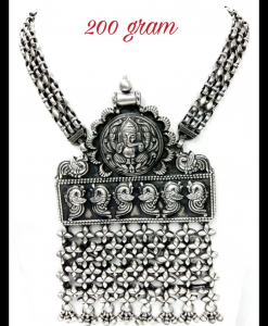 Oxidised Silver Beautiful Ganesha Exclusive Neck Piece
